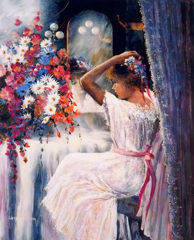 Fine Art and You: Beautiful Figurative Paintings by Juan Fortuny | Spanish Painter