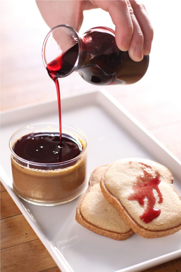 Peanut Butter Pot de Creme with Red Wine Reduction | Tasty Treats ...