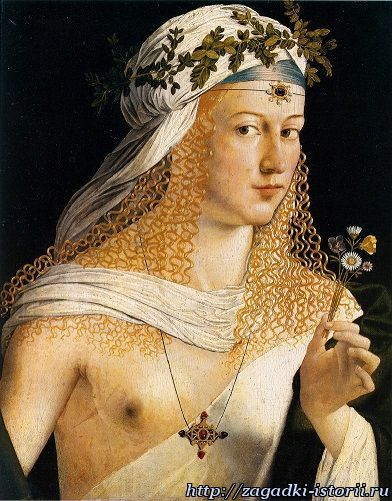 Лукреция Борджиа - дочь развратного понтифика