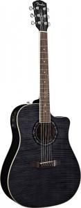 O MAESTRO - Guitarra Acustica Fender T-Bucket™ 300 CE Rosewood Fingerboard Transparent Black Flamed Maple Top