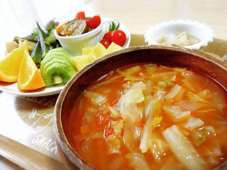 脂肪燃焼スープダイエットの方法とレシピ - ダイエットメニュー