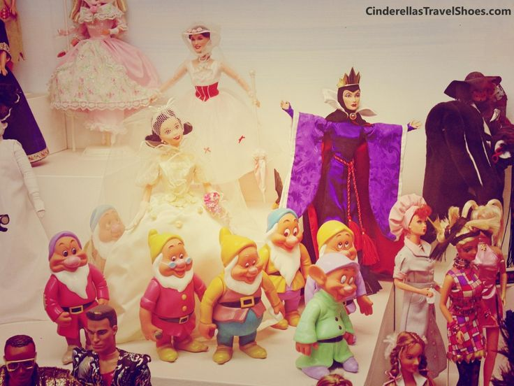 Snow White and the Seven Dwarfs in Barbie style