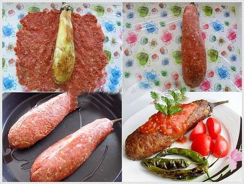 Köfte Mantolu Patlıcan yapıyoruz