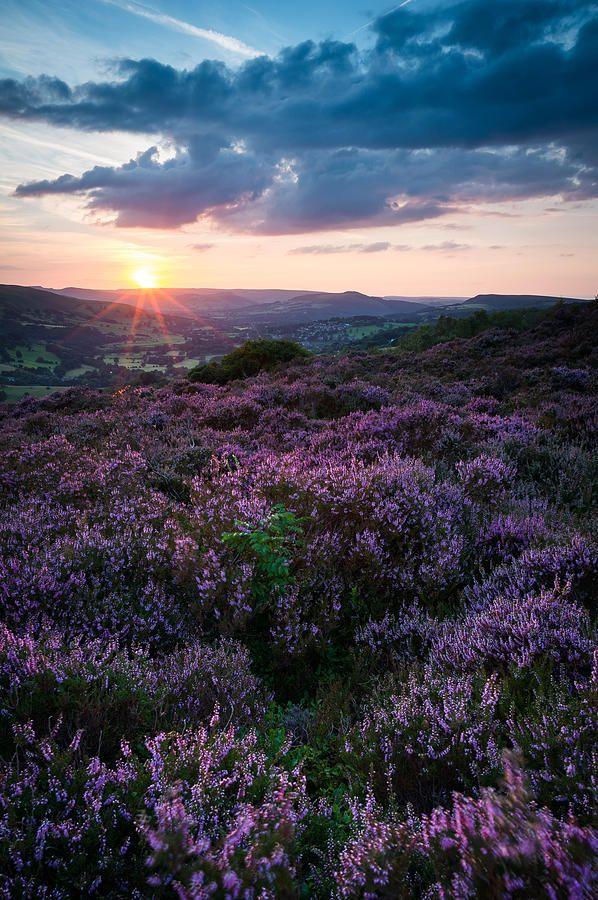 ✯ Surprise View Sunset, Peak District, UK