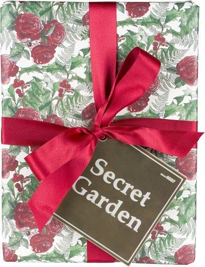 Christmas: Secret Garden gift containing:  -Reindeer Rock soap -Po's Argan Body Conditioner -Rose Jam shower gel -Sleepy body lotion -Beautiful shower gel -King of Skin body butter