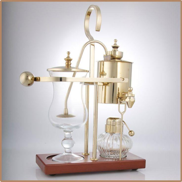 Balance Coffee Maker-Coffee Machine-Vienna-Coffee Master-Best Coffee Maker-Different Coffee Maker-Coffee Maker Design- Fantastic Tasting Coffee-Coffee-Gadgets-Technology-Antique-Gold