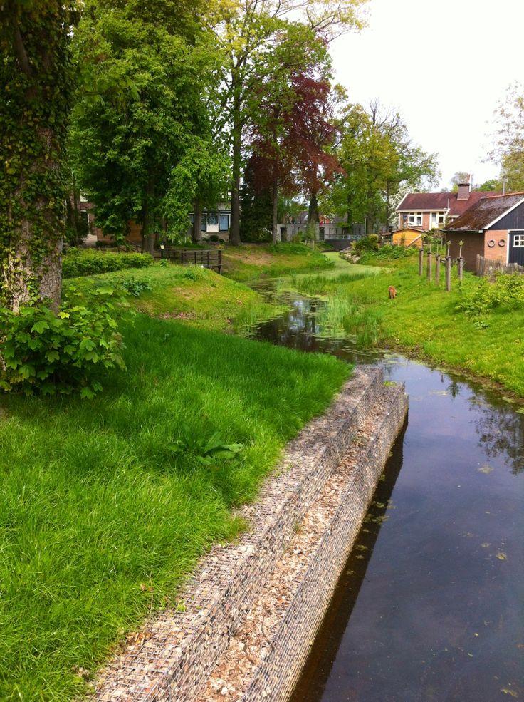 Rivier de Regge in Goor, Overijssel. Ons chalet staat in Markelo. Goor is dichterbij dan centrum Markelo.