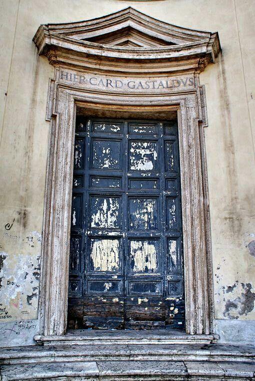 Door in Rome, Italy