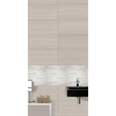 With the MS International White Quarry Interlocking 12 in  x 12 in  Mosaic Floor and Wall Tile  it  39 s easy to add a splash of contemporary styling to your. 1000  images about tile floors on Pinterest   Ceramic floor tiles