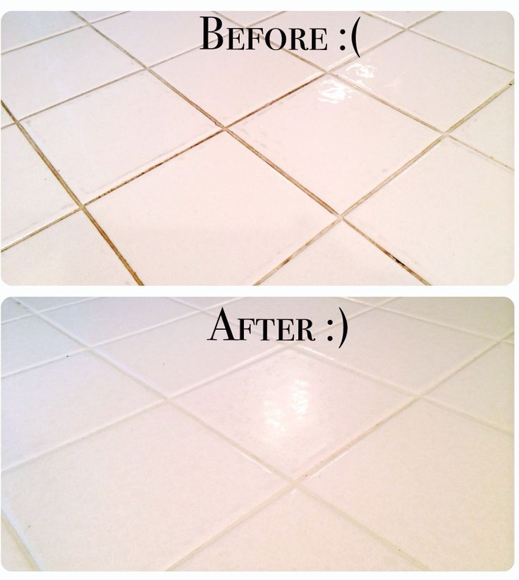 Wouldn't have believed it if I hadn't seen it with my own eyes! A soupy paste of baking soda + hydrogen peroxide + 15 minutes to soak + nylon bristle brush fixed our 20 year old rental property grout the best (and with the least elbow grease) of anything I've ever tried. Although I still have an immense hatred for grout and white 90's tile... I love this cleaning solution!