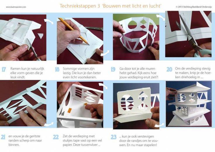 Bouwen met licht en lucht - architectuur | lesidee | groep 5-6 | Laat maar Leren