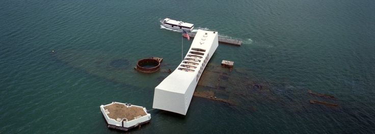 Pearl Harbor on the island of Oahu is a lagoon harbor situated about 10 miles west of Honolulu.