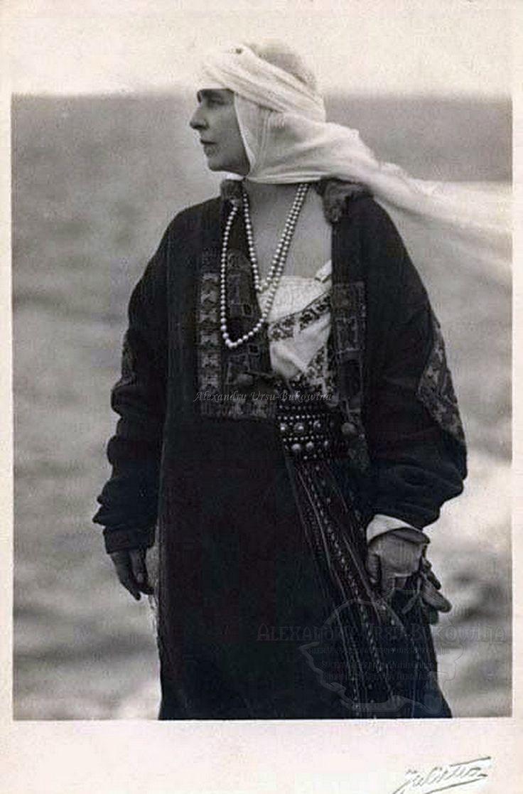 Queen Marie of Romania. Regina Maria a României. Königin Marie von Rumänien.