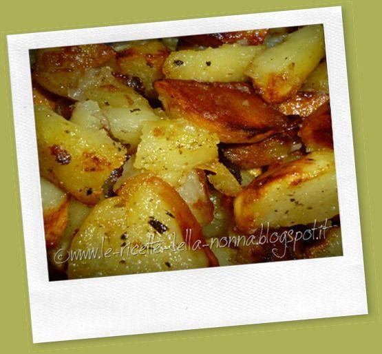 Le Ricette della Nonna: Patate al burro fatte in padella