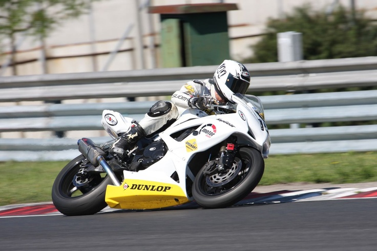 Victor Nemes, #100, in SlovakiaRing, DUNLOP Romanian SUPERBIKE 2012  Photo by two4photo
