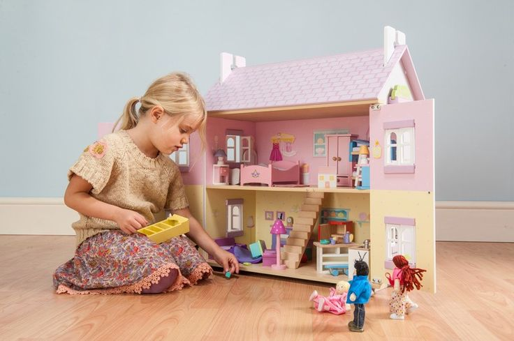 Le Toy Van - Doll House Lavender - Doll Houses - Dolls & Doll Houses - Shop