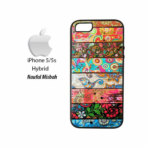 Paisley Planks iPhone 5/5s HYBRID Case