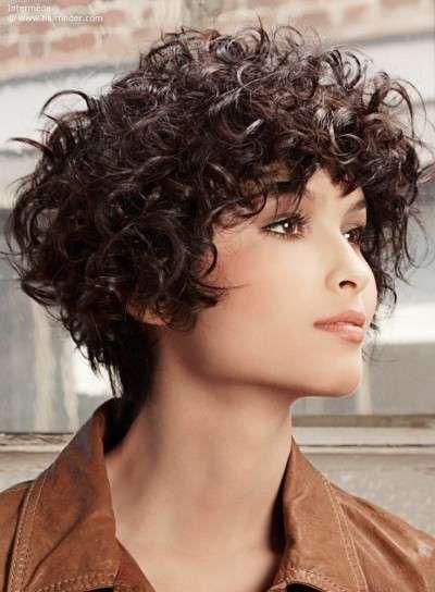 Capelli corti ricci curly hair