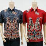 Toko Batik Online Terpercaya  Model Baju Batik Pria Lengan Pendek Motif Asmat  Call Order Whatsapp ( Text Only ) 082-135-313-738 Pin BB D919D352  Model Baju Batik Pria Lengan Pendek Motif Asmat