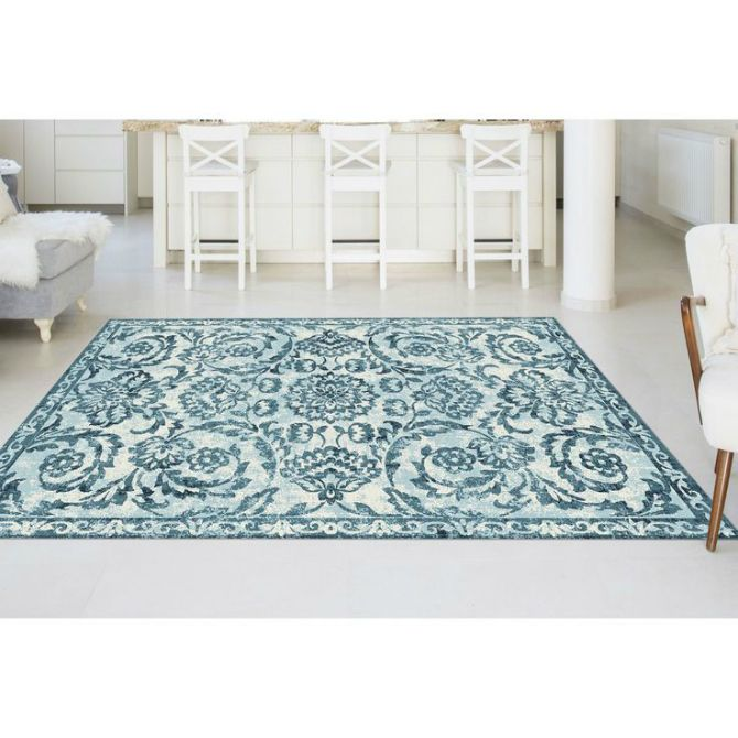 If these large rugs were a painting, who would be the painter?     Large rugs