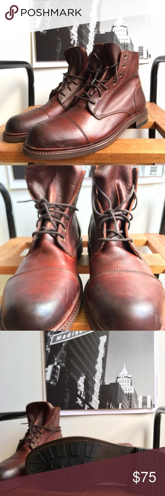 🙌🏾Brand New Aldo Boots #0197AO Brand new Aldo reddish brown genuine leather rugged style lace up boot. NO TRADES. NO LOWBALL OFFERS, Thank you! #boot #aldo #men #mensstyle #style #streetwear #boot #size46 #size13 #oxford #fallfashion #winterfashion #winter #fall #brownboot #btown #brandnew #aldoboot Aldo Shoes Boots