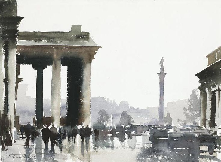 Edward Seago, Trafalgar Square