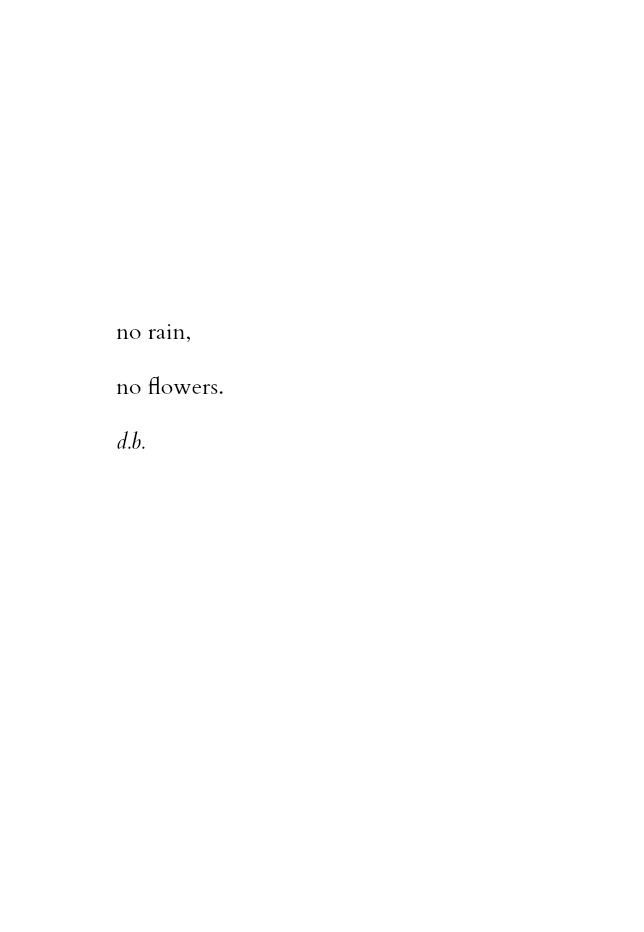 Life in black & white | no rain, no flowers | #clever_quotes