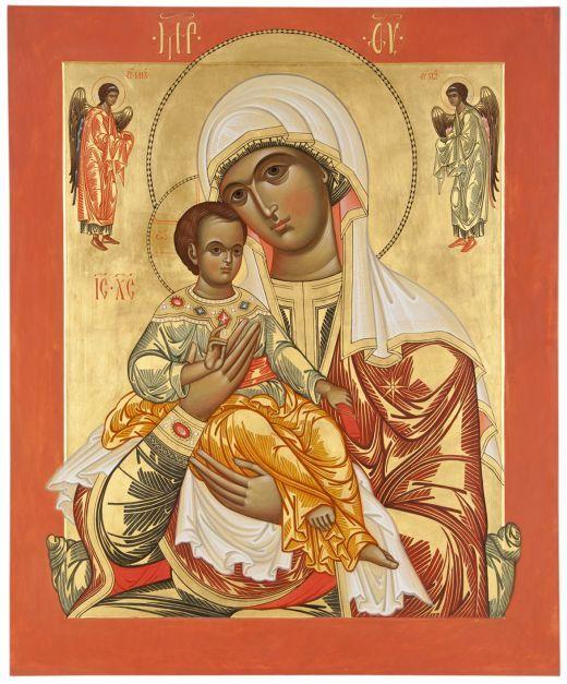 Maryja Panna z Dzieciątkiem, Archaniołowie Michał i Gabriel