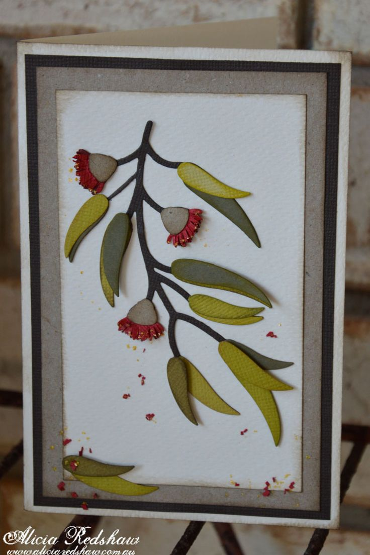 28 best ultimate crafts australiana images on pinterest alicia redshaw is teaching this trio of australiana cards for this weeks cardmaking class at on tuesday 11 august using the newly released eucalyptus kristyandbryce Gallery
