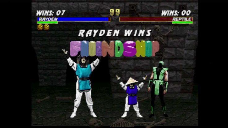 Mortal Kombat Trilogy - All RAIDEN Fatalities