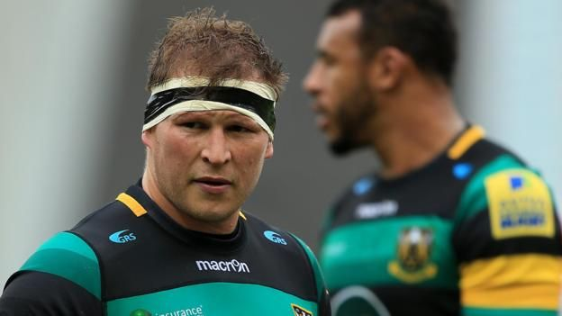 Dylan Hartley (left) captained England to victory in their two-Test summer tour of Argentina England captain Dylan Hartley has signed a new contract with Northampton Saints and has been reappointed as the Premiership side's skipper. The 31-year-old, capped 86 times by his country, was...