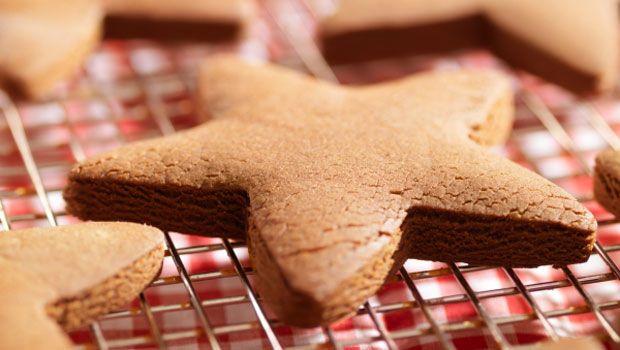 25 Days of Christmas Cookies, Dec 4th: Hazelnut-Chocolate Stars