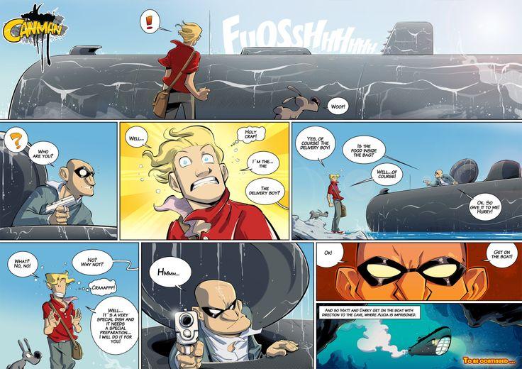 Season2 - Issue17 #canman #webcomic by #DARKDOG