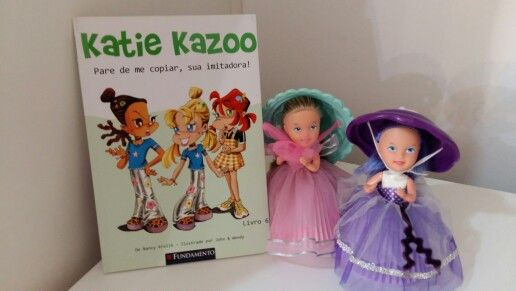 "Katie Kazoo ""Pare de me copiar, sua imitadora !"