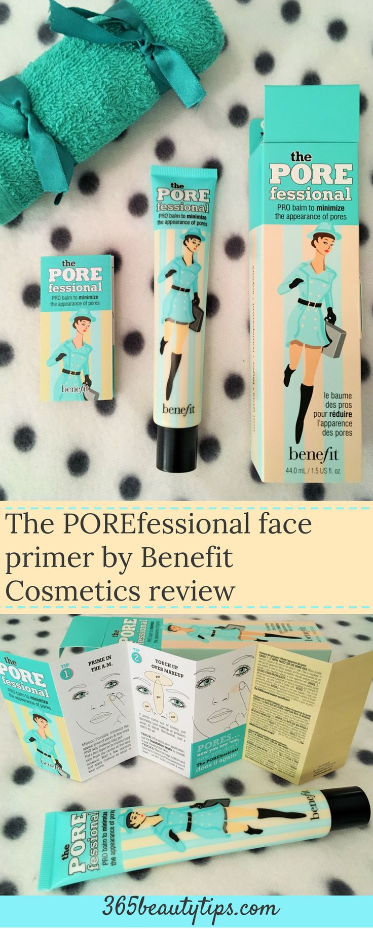 The POREfessional face primer by Benefit Cosmetics review and swatch