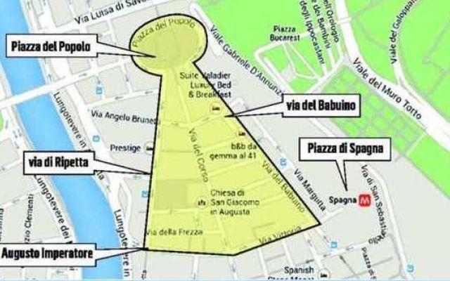 Ztl, da lunedì stop anche per moto e motorini. Ecco la mappa delle zone off limits #roma #ztl #ignaziomarino