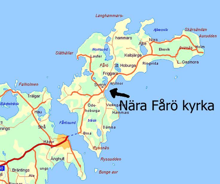 Fårö Gotland Sweden Travels In Pinterest Gotland - Sweden map gotland