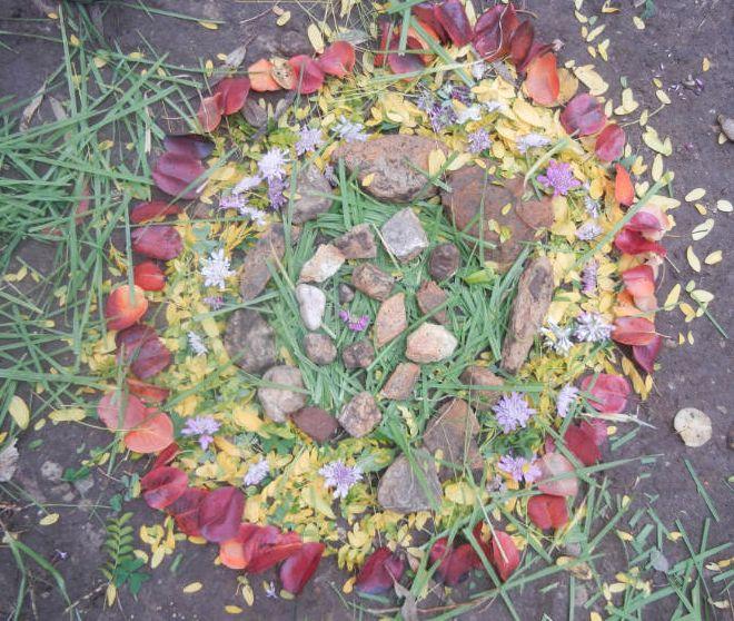 mandalas   nature art   sustainability arts and crafts pinterest