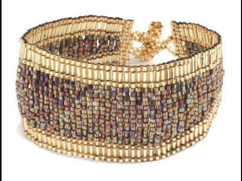 Sleek Bracelet Tutorial - YouTube Jill Wiseman - designer and teacher