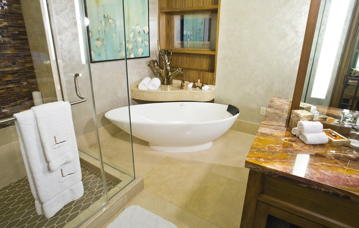 Bathroom Sinks Baton Rouge luxury bathroom in the suites at l'auberge baton rouge #lbr | l