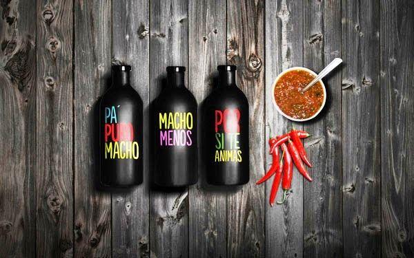 Desain Kemasan Makanan Saus Sambal - LOS MEZQUITES oleh MBranding
