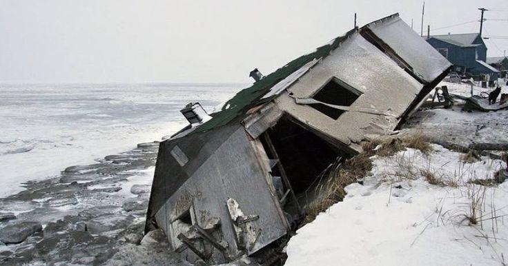 Ο οικισμός Σίσμαρεφ στην Αλάσκα βυθίζεται καθημερινά όλο και περισσότερο στον ωκεανό