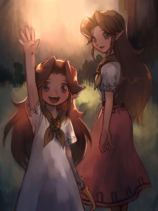 The Legend of Zelda - J j'adore quand elle chante la chanson de sa mère ( chanson Epona )