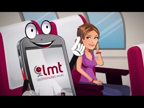 Last Minute Travel Deals app on iOS and Android - A story about true love!
