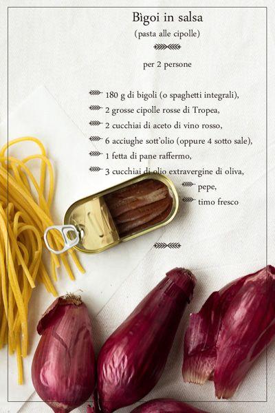 Venezia con il calar dell'autunno: Bìgoi in salsa   Honest Cooking Italia