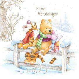 Fijne kerstdagen met Winnie, Tijgertje & Knorretje! #Hallmark #HallmarkNL #kerst #xmas #x-mas #christmas #kerstmis #inspiratie #kerstkaart