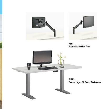 25 Best Ideas About Sit Stand Desk On Pinterest