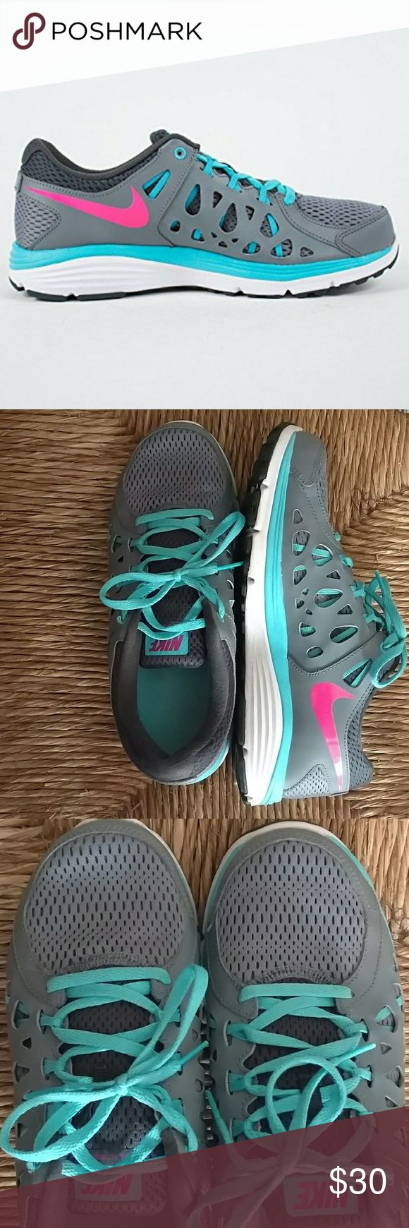 NIKE DUAL FUSION TENNIS SHOES Design as Shown Gently used Condition Clean Offers welcome as Always Nike Shoes Athletic Shoes