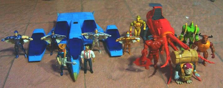 Kids Toys Action Figure: Silverhawks (Kenner, 1987)...