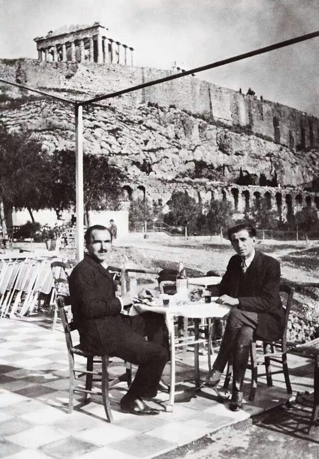 Afbeeldingsresultaat voor καζαντζάκης ναζισμός